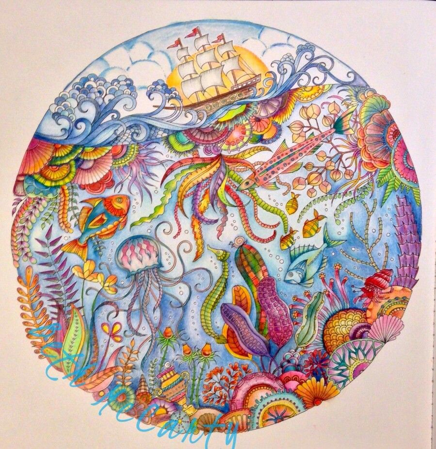 Zen ocean colouring book - Lost Ocean If You Re Looking For The Most Popular Adult Coloring
