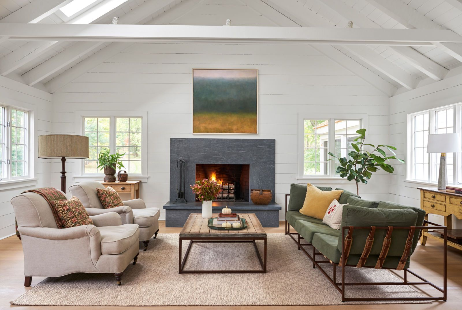 This Connecticut Farmhouse Is the Definition of Open and