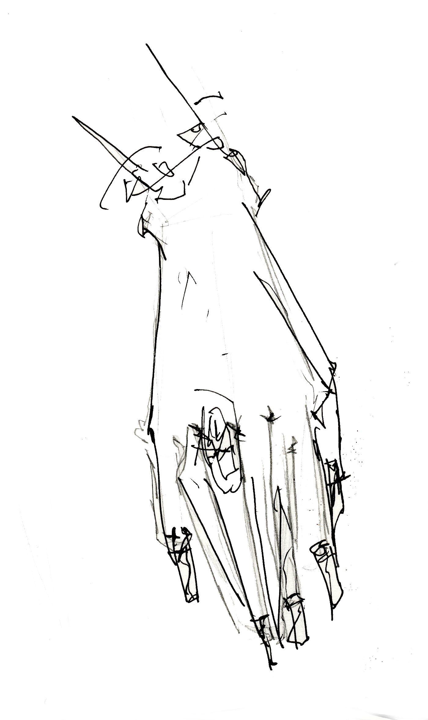Illustration, Hand