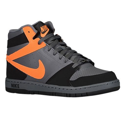 Shoes Nike Prestige IV High Black Grey & Orange