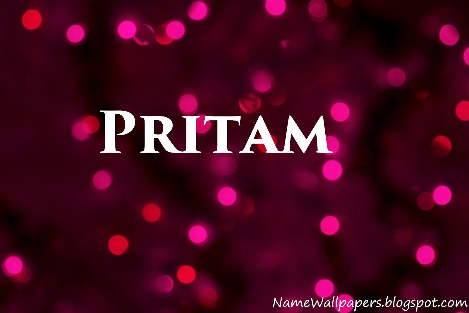 Download Pritam Name Wallpaper Gallery