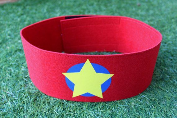 Superhero Belt, kids superhero costume, costume accessories, felt belt, custom belt, superhero gift, #superherogifts