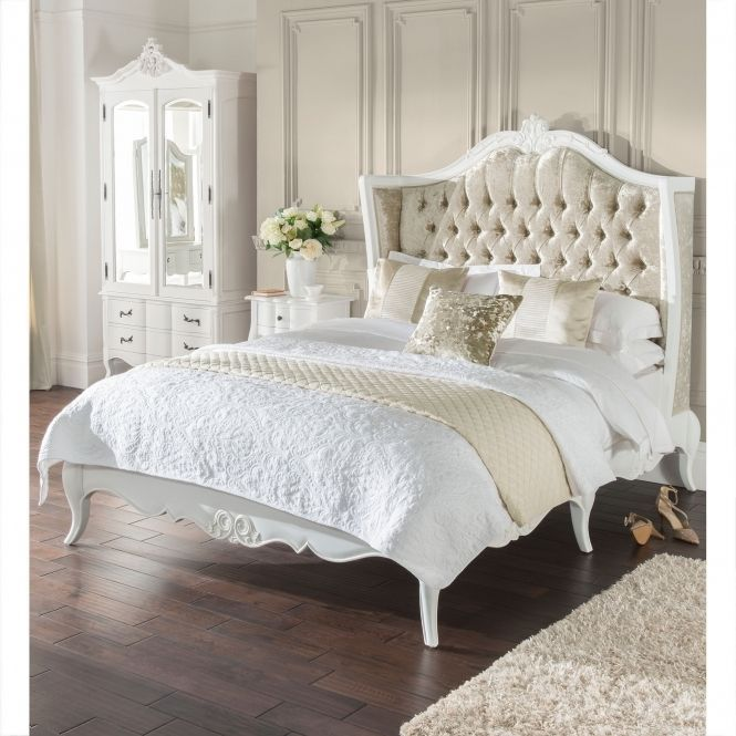 Estelle Antique French Style Bed In 2020 French Style Bed French Style Bedroom Furniture Bed Styling