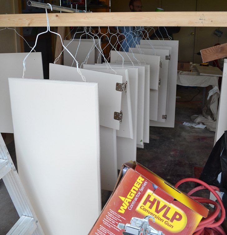 Good Easily+Paint+Cabinet+Doors Help For Painting Doors On Both Sides And Space  For Drying