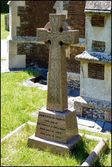 Grave of Prince John (John Charles Francis Windsor) | British royalty,  British monarchy, Sandringham estate