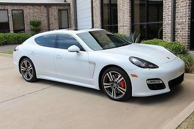 2016 Porsche Panamera Carrera White Sport Chrono Premium Plus Black Wheels Bose Tx One Owner Much