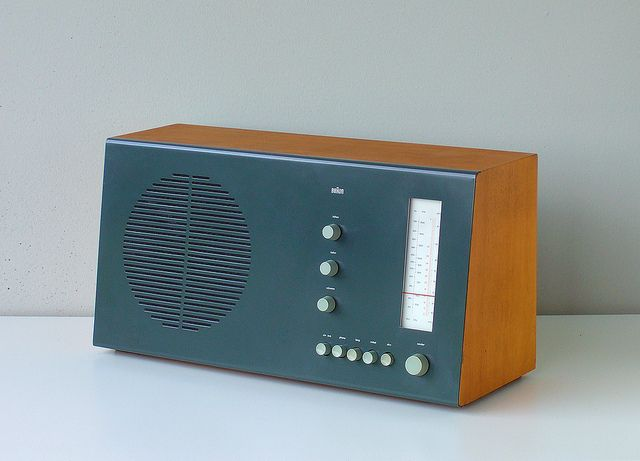 Braun RT 20 tube radio
