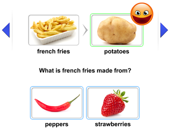 Help students to reinforce their understanding of certain scientific processes by using this activity on your smartboard or interactive whiteboard. They will learn what comes from what in a fun interactive way.