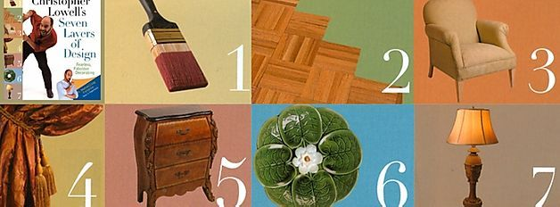 Christopher Lowell shares his Amazing 7 Layers Of Design ...