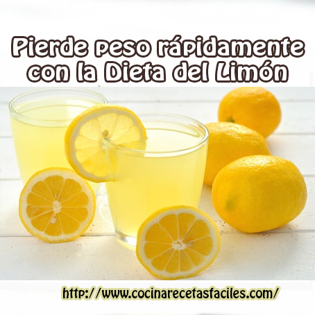 Receta de limonada para bajar de peso