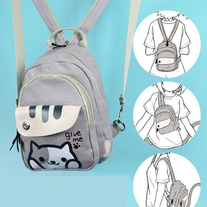 Neko Atsume Anime Printing Backpack SP165078