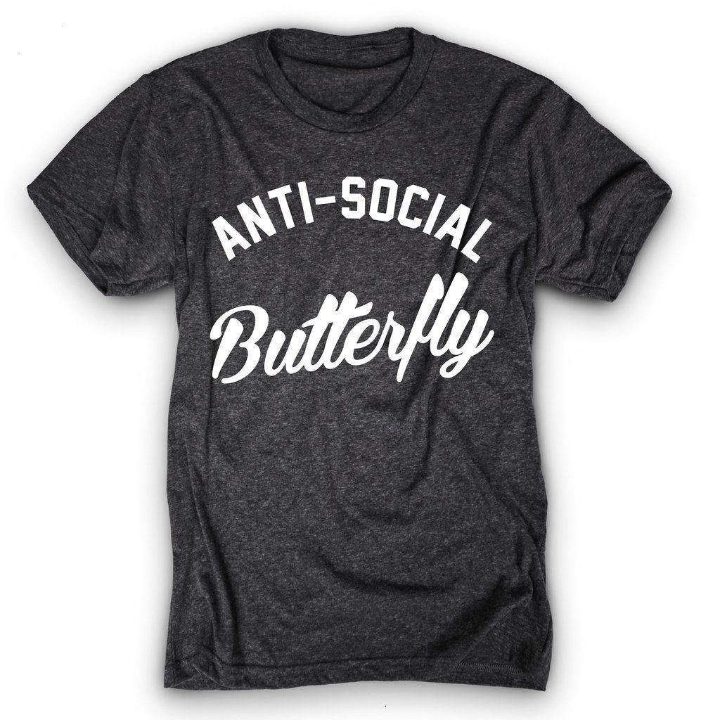 4186e38fd1bc Just an Anti-Social Butterfly! Don t talk to me.