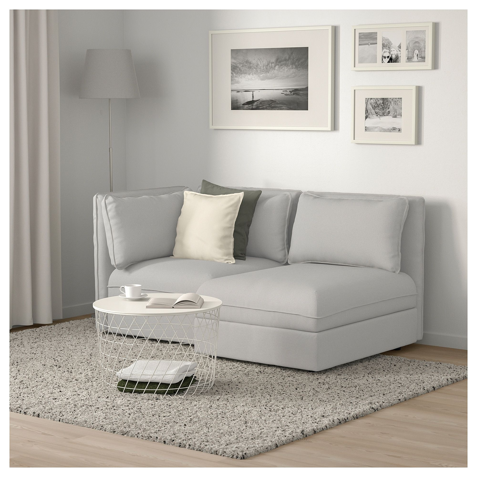 Strange Ikea Vallentuna Modular Loveseat With Storage Orrsta Pabps2019 Chair Design Images Pabps2019Com