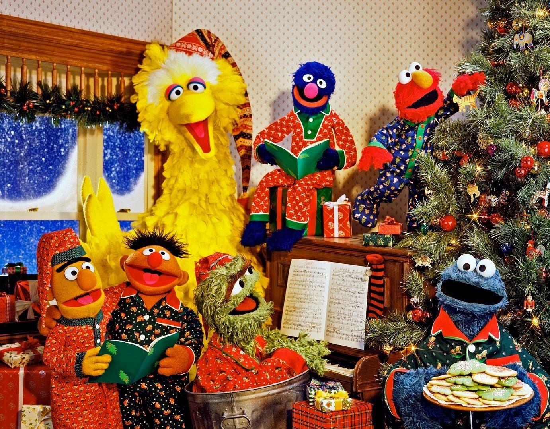 Christmas Eve On Sesame Street Sesame Street Christmas Sesame Street Muppets Merry Christmas Eve