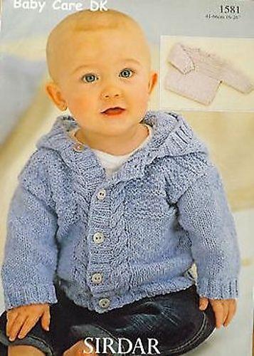 Ravelry: Sirdar Baby Care DK 1581 | Strikke | Pinterest