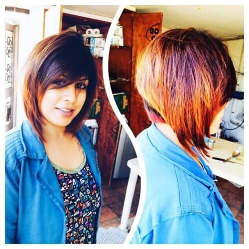 Short Indian Bob With Feathercut Indian Hairstyles Pinterest