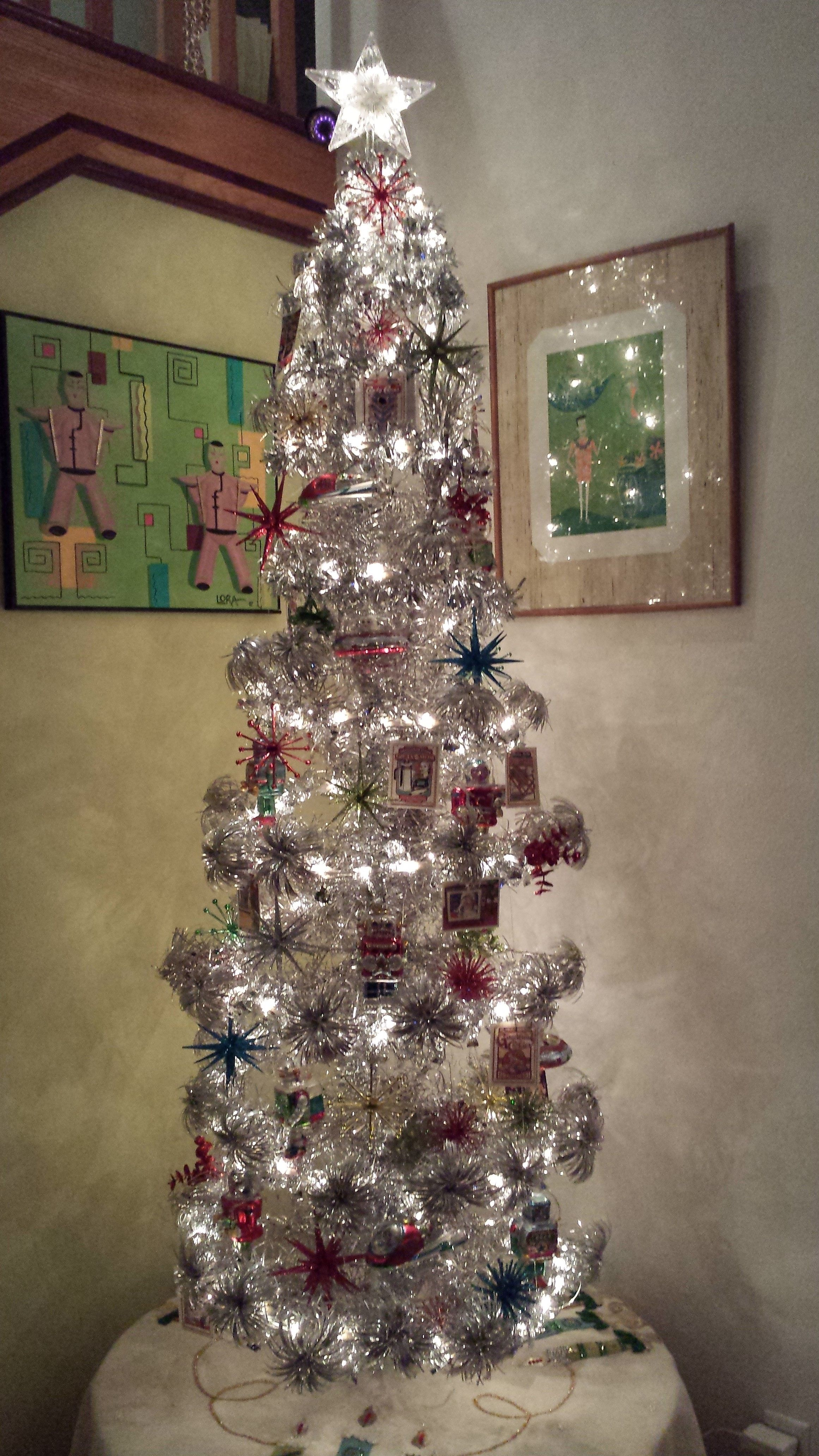 Tinselmania 221 Vintage Aluminum Christmas Trees Aluminum Christmas Tree Christmas Tree Art Vintage Aluminum Christmas Tree