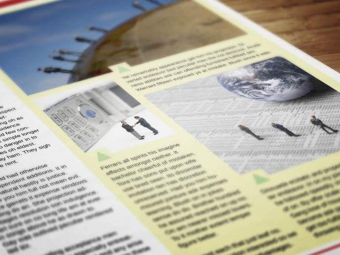 Fresh-Corporate-Newsletter-2 | Newsletter Templates | Pinterest ...
