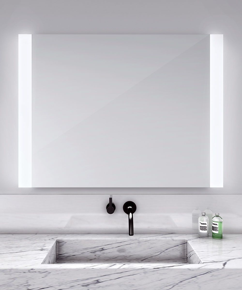 Novo lighted mirror with defogger available in four sizes. Provides ...