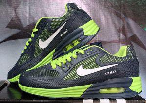 Nike Airmax Pria Hitam Hijau Hitam Pria