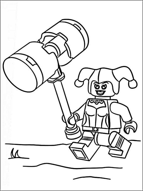lego batman 2 ausmalbilder für kinder malvorlagen zum