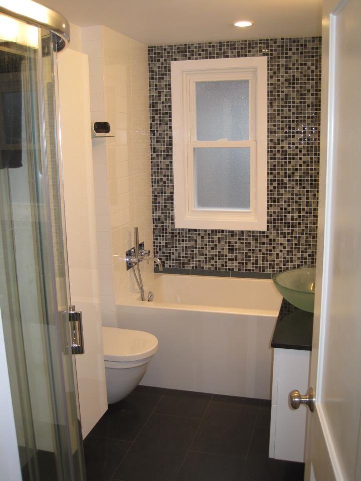 1X1 Urban New York #glass #mosaic #bathroom  Mi Casa  Pinterest Endearing Mosaic Feature Tiles Bathroom Inspiration Design