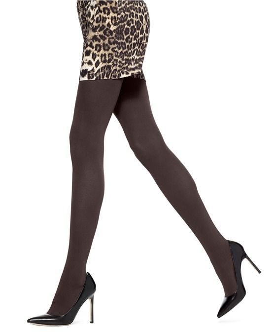 1a0f737d757a7 MINK HEATHER SIZE 1 HUE Opaque Tights | Super Opaque Tights with Control Top