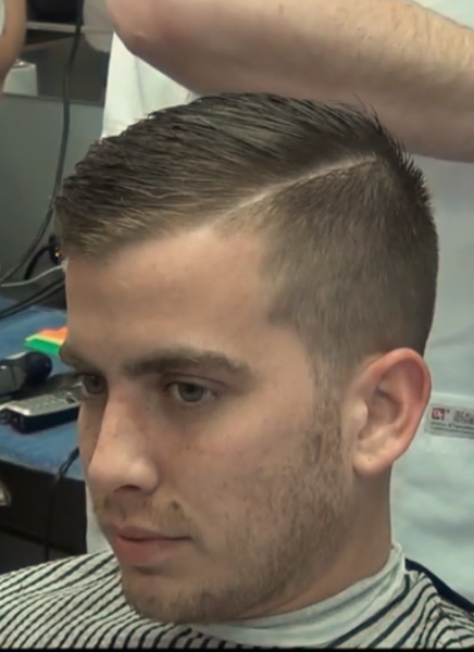 hair styling for mens side part barbershops haircuts hair style 5375