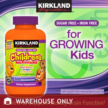 Costco: Kirkland Signature™ Children's Chewable Multivitamin