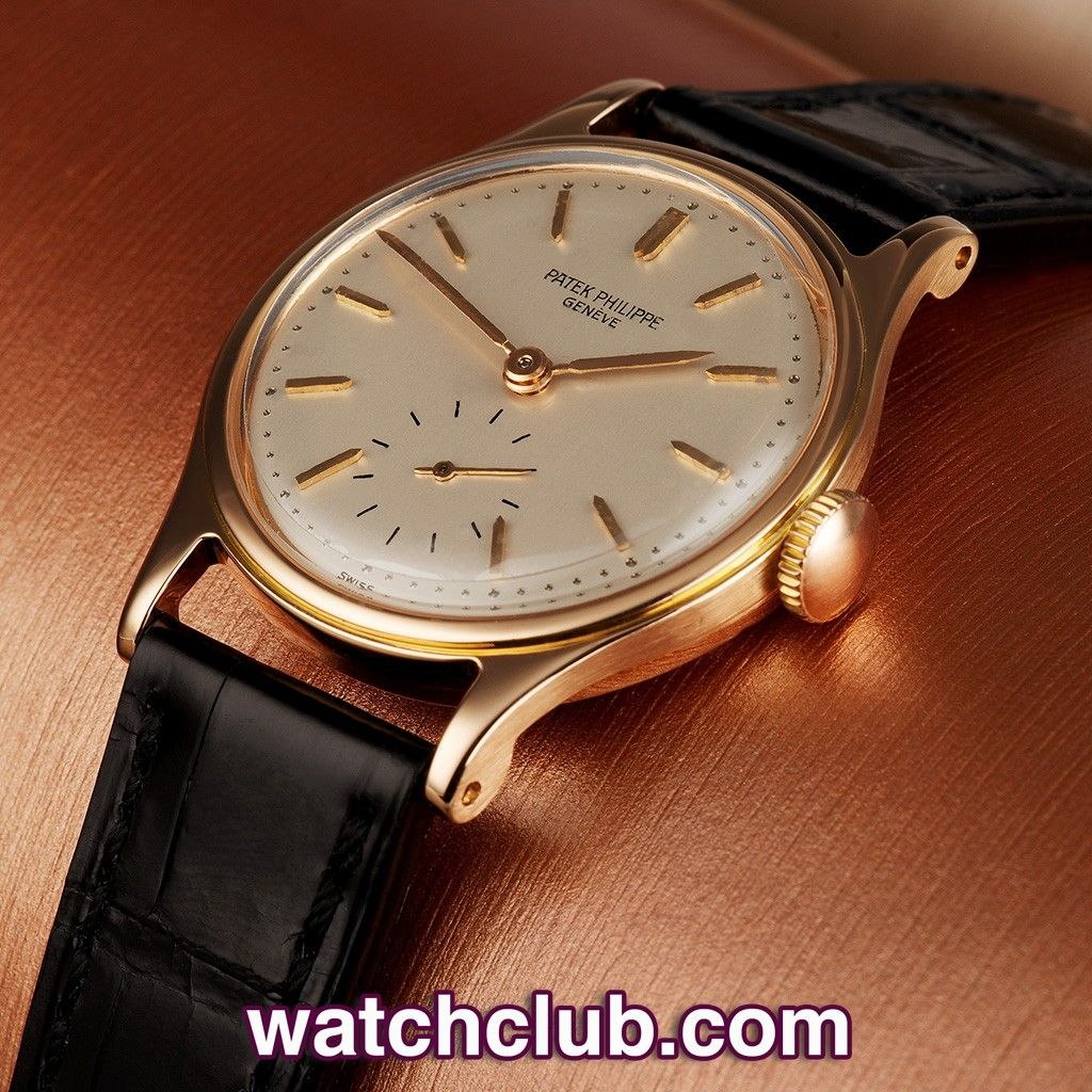 patek philippe calatrava automatic rose gold