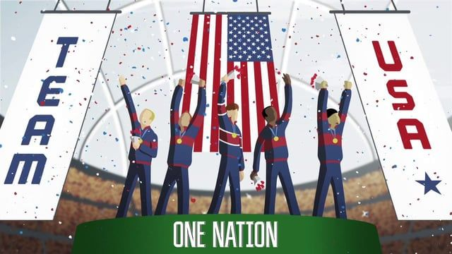 Animation illustrating the road to the Olympic gold for BP sponsored Team USA athletes!   Agency: Ogilvy Washington Music/Sound Design: YouTooCanWoo
