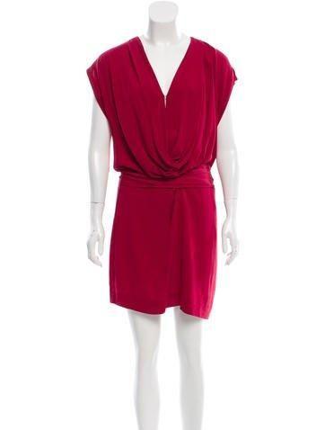 ff6ad4b006f  The RealReal -  Diane von Furstenberg Diane von Furstenberg Silk  Sleeveless Dress - AdoreWe