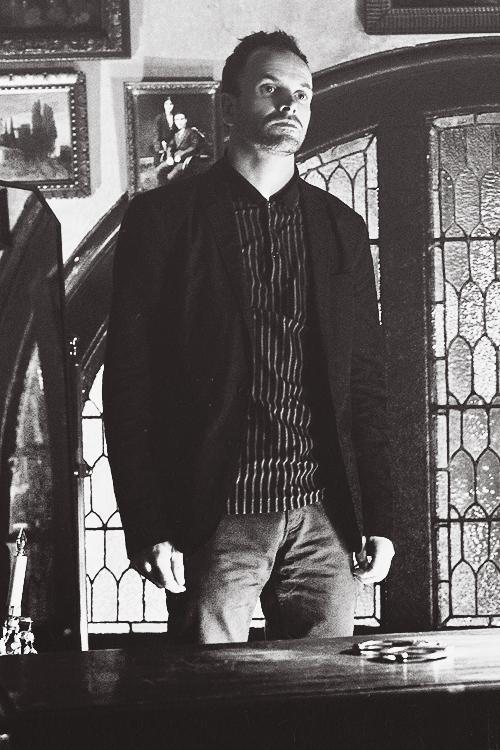 """Jonny Lee Miller as Sherlock Holmes, """"Elementary."""""""