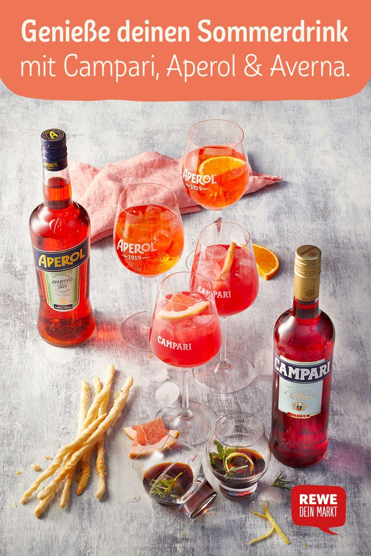 Italienische Drinks: sommerlich anstoßen
