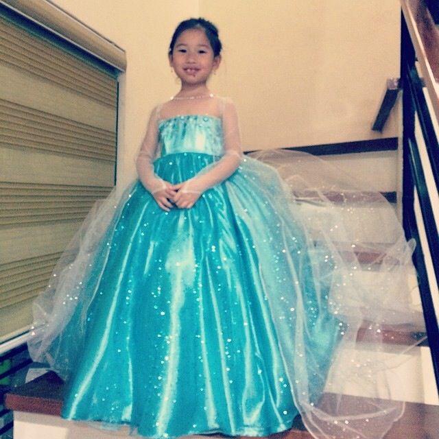 custom made frozen Elsa gown for little girls | Costumes in 2018 ...