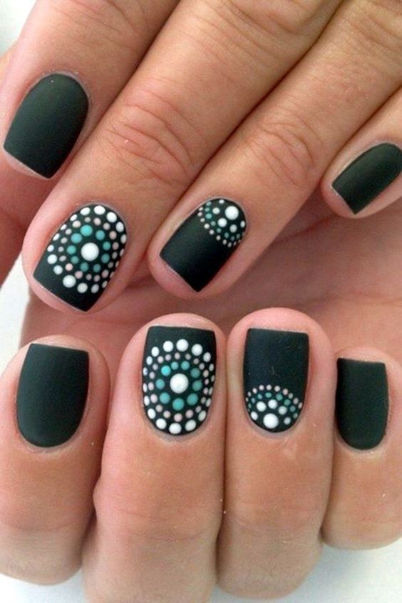 45 Glamorous Gel Nails Designs And Ideas To Try In 2017 Unique Cute Simple Easy DIY Nail For Spring Winter Fall Summer