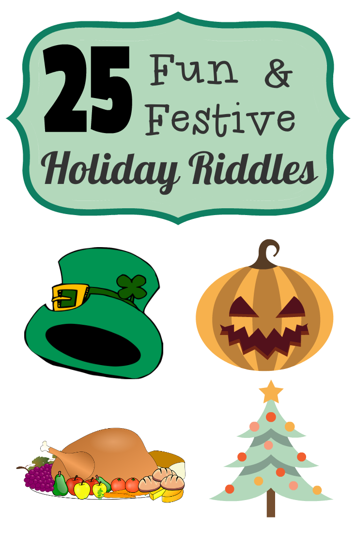 25 Fun and Festive Holiday Riddles Great activities for