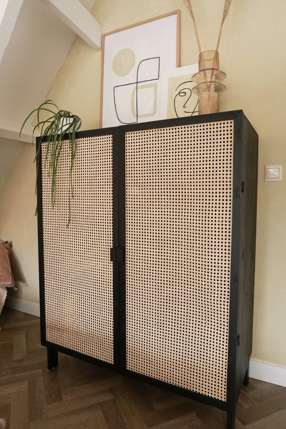 Photo of Instead of paying in expensive judgments for a wicker closet, Esther made her own!