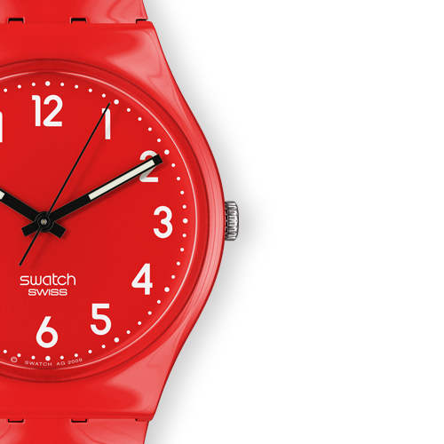 I want to share with you the latest Swatch Core Collection.