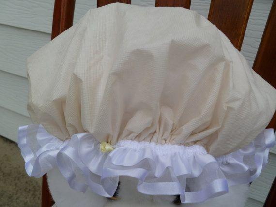 Waterproof Shower Cap Little Miss Muffet Bonnet by GiftCreation, $22.50