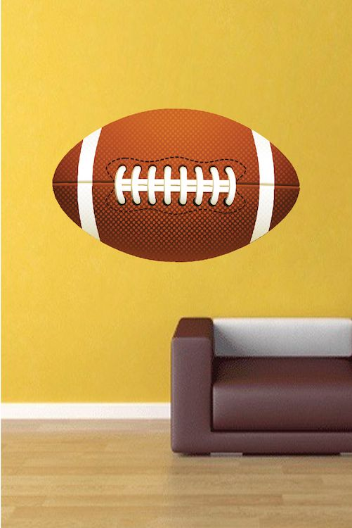 Large Football Wallpaper Graphic - Large Football Wall Adhesive ...