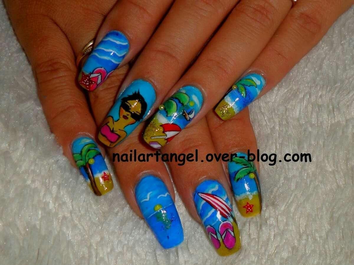 Nail art, nails, tutorial, nailartangel.over-blog.com   Nail art ...