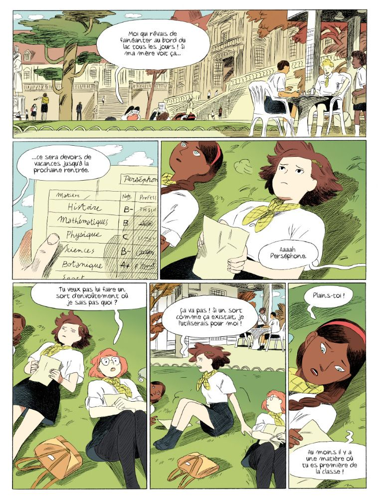 Cite Yer Sources  LoicLocatelli My Comicbook Persephone Is Out