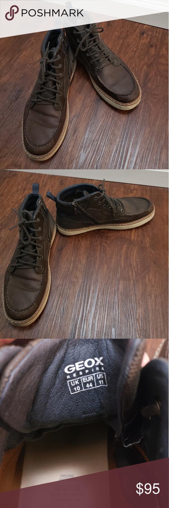 lavanda Restaurar recepción  Geox Respira Boots , brown US11 Geox Respira Boots , brown US11 in very  good condition. Geox Shoes Boots | Boots, Shoe boots, Geox shoes