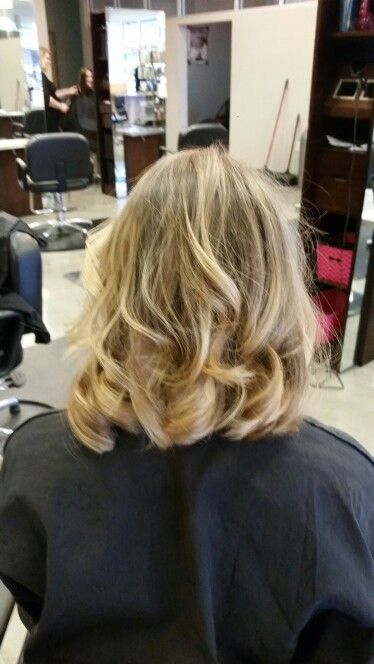 Balayage / Ombre' and a long bob by Ashley Bean