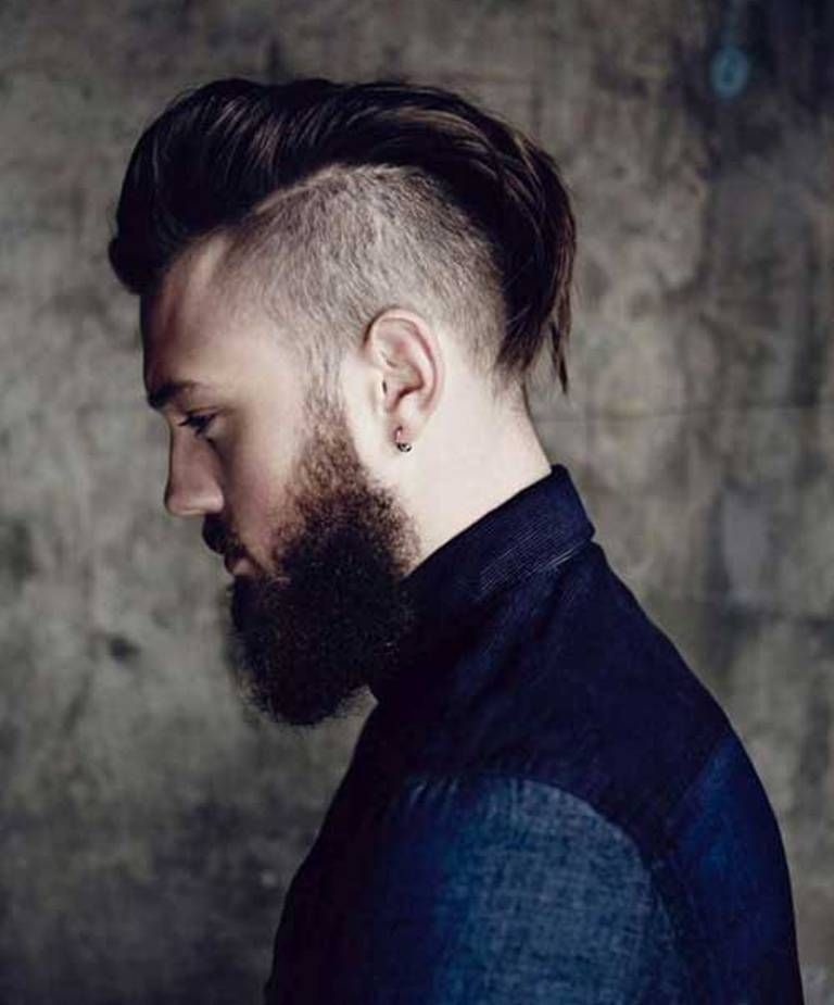 62 Best Haircut Hairstyle Trends For Men In 2020 Pouted Com Mohawk Hairstyles Men Undercut With Beard Mohawk For Men