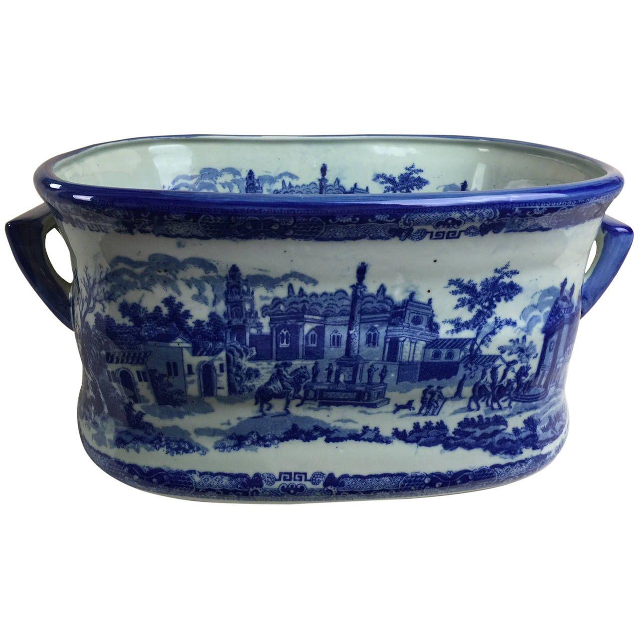 Victorian Footbath. Victoria Ware Ironstone. | Commode Accessories ...