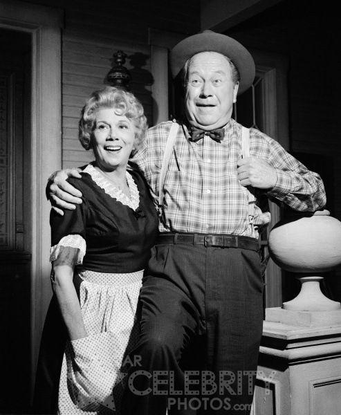 Kate Bea Benaderet And Uncle Joe Edgar Buchanan On Petticoat