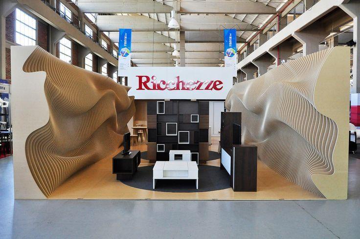 Galería de Pabellón Ergonómico Construido con Costillas de MDF - 4 - Pesquisa Google