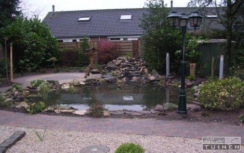 Watertuin gerealiseerd door allintuinen.nl